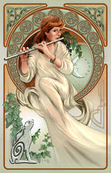 Art Nouveau Celtic by Lonesome--Crow