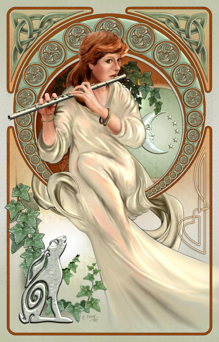 Art Nouveau Celtic by Lonesome--Crow on DeviantArt