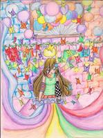 Tajii's colorful workshop by elenavill