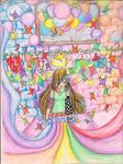 Tajii's colorful workshop