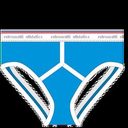 RM17S-JB-N-C Jock Briefs Cerulean Blue