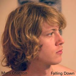 Album design for 'Falling Down' by Matti Charlton