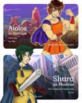Aioros and Shura (Disney Heroes Crossover)
