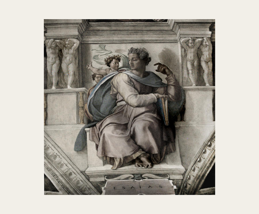 History Pages I Series Michelangelo - Sistine Chap by Callu