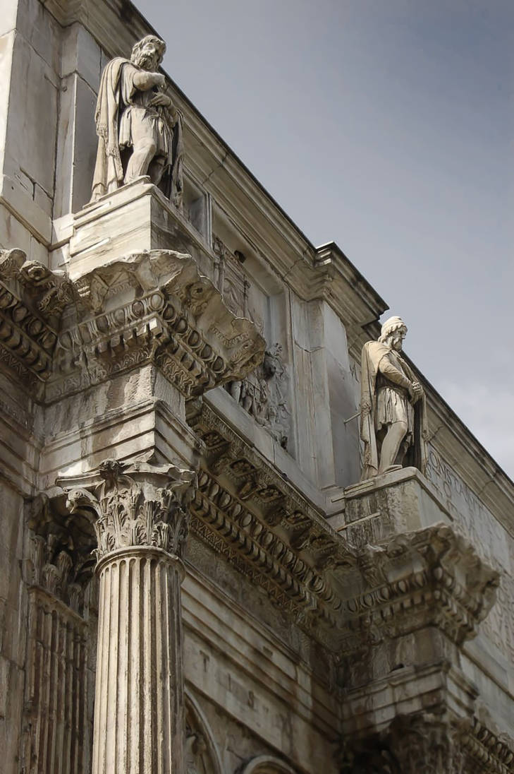 Arch of COnstantine Rome 1 by Callu