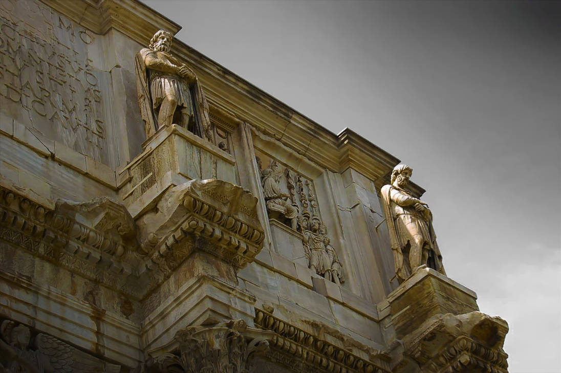 Arch of Constantine Rome II by Callu