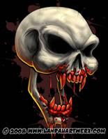 Dracula Skull by LandonLArmstrong