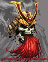 Samuria Skull of Death by LandonLArmstrong