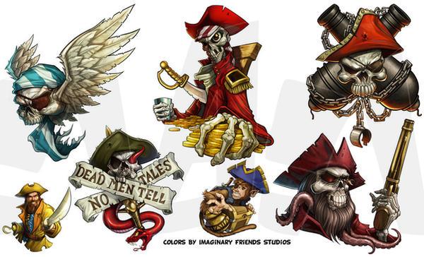Pirates by LandonLArmstrong