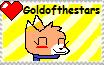 I Love Goldofthestars Stamp! by H3ARTOFTHEOCEAN