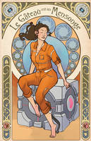 Chell by the-frizz