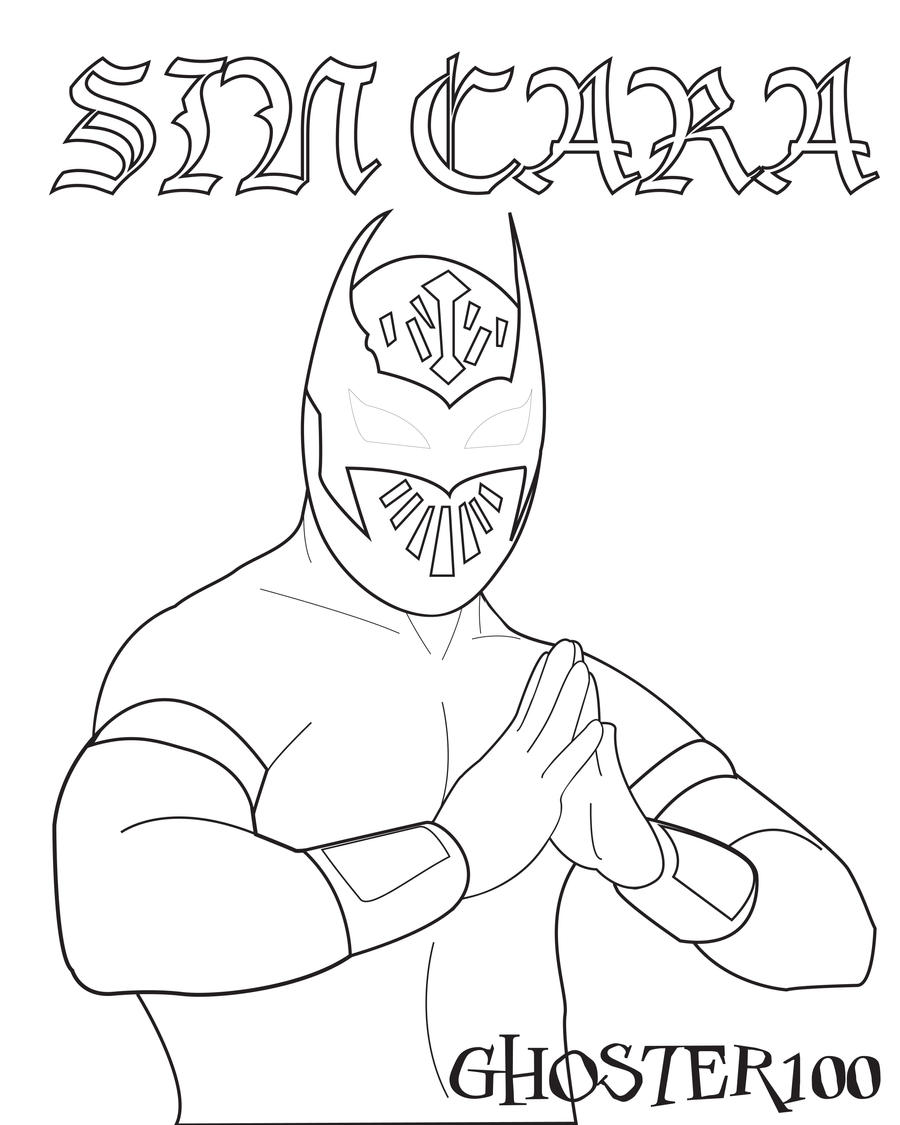 sin cara coloring pages online - photo #8