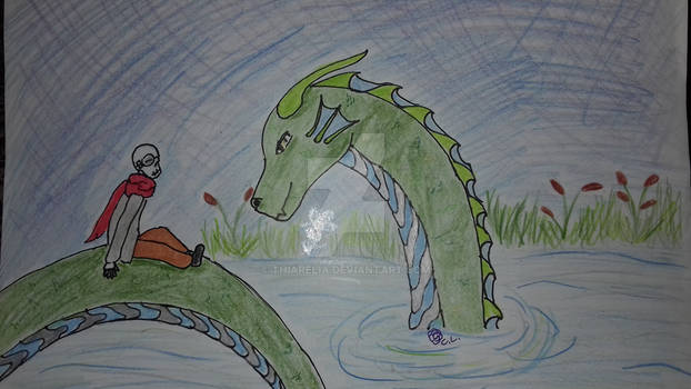 Little Gaster and the waterdragon