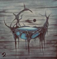 Floating island by DoreenHillmann