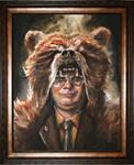 Dwight Schrute Painting Progress 2