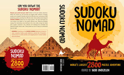 Book Cover: Sudoku Nomad by marialegarde