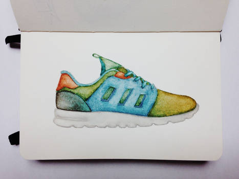 ZX 500 2.0 Watercolor
