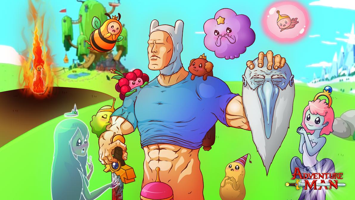 Adventure Man by MisterDavey