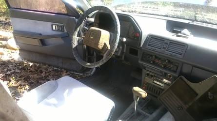4 - 1985 Mazda 626 - Project Brony Mobile - Inside