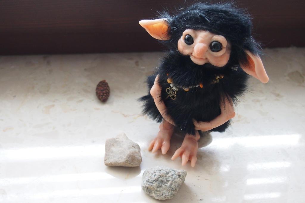 Little troll gnome AUGUST by muestillo by muyestillo