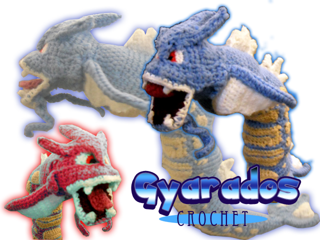 Gyarados Crochet by ursus327