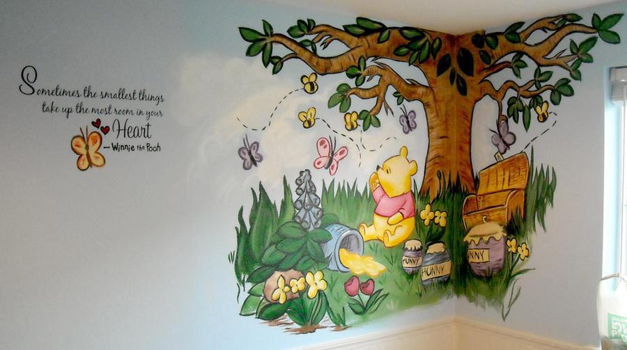 Winnie the Pooh Mural by ursus327 on DeviantArt