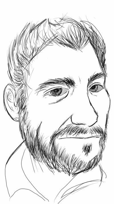 Self Portrait - Sketch This by ursus327