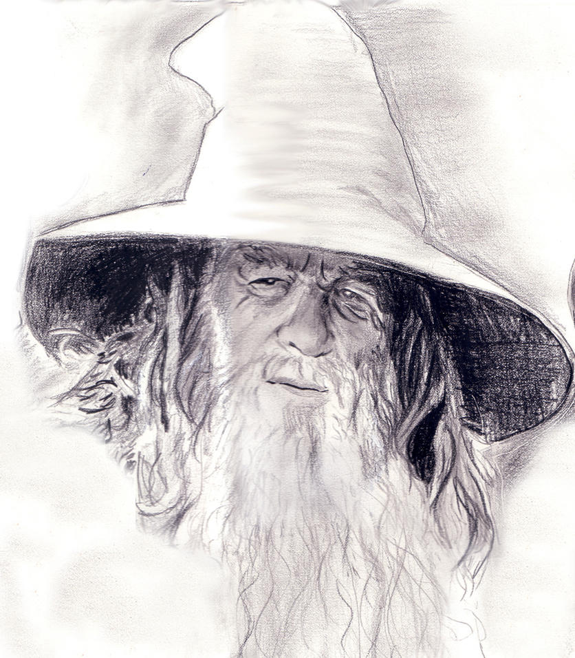 Fellowship Closeup - Gandalf by ursus327