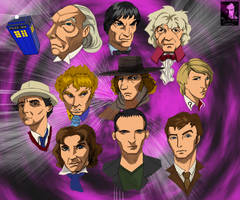 Ten Doctors by ursus327