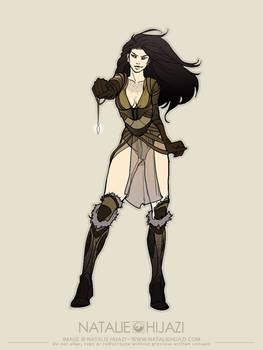 OC concept sketch: Soraya...