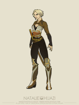 OC concept: Kaylin...