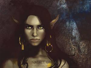 Rajha Portrait