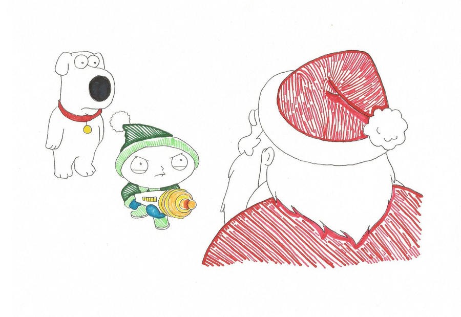 Brian and Stewie color by Blaze-Belushi