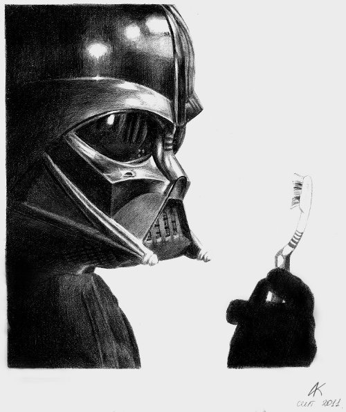 Darth Vader by EverSanakan