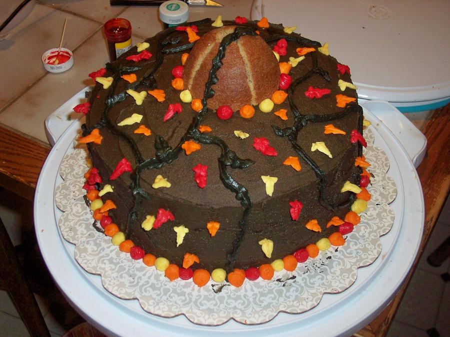 Birthday Cake Leaves