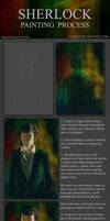 Digital painting walkthrough Sherlock
