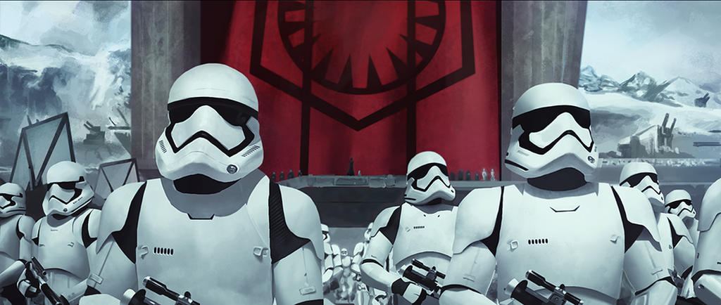 Stormtroopers study by Acolet