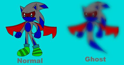 Demon-Ghost Hedgehog adoptable