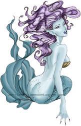 color mermaid by ElleChups