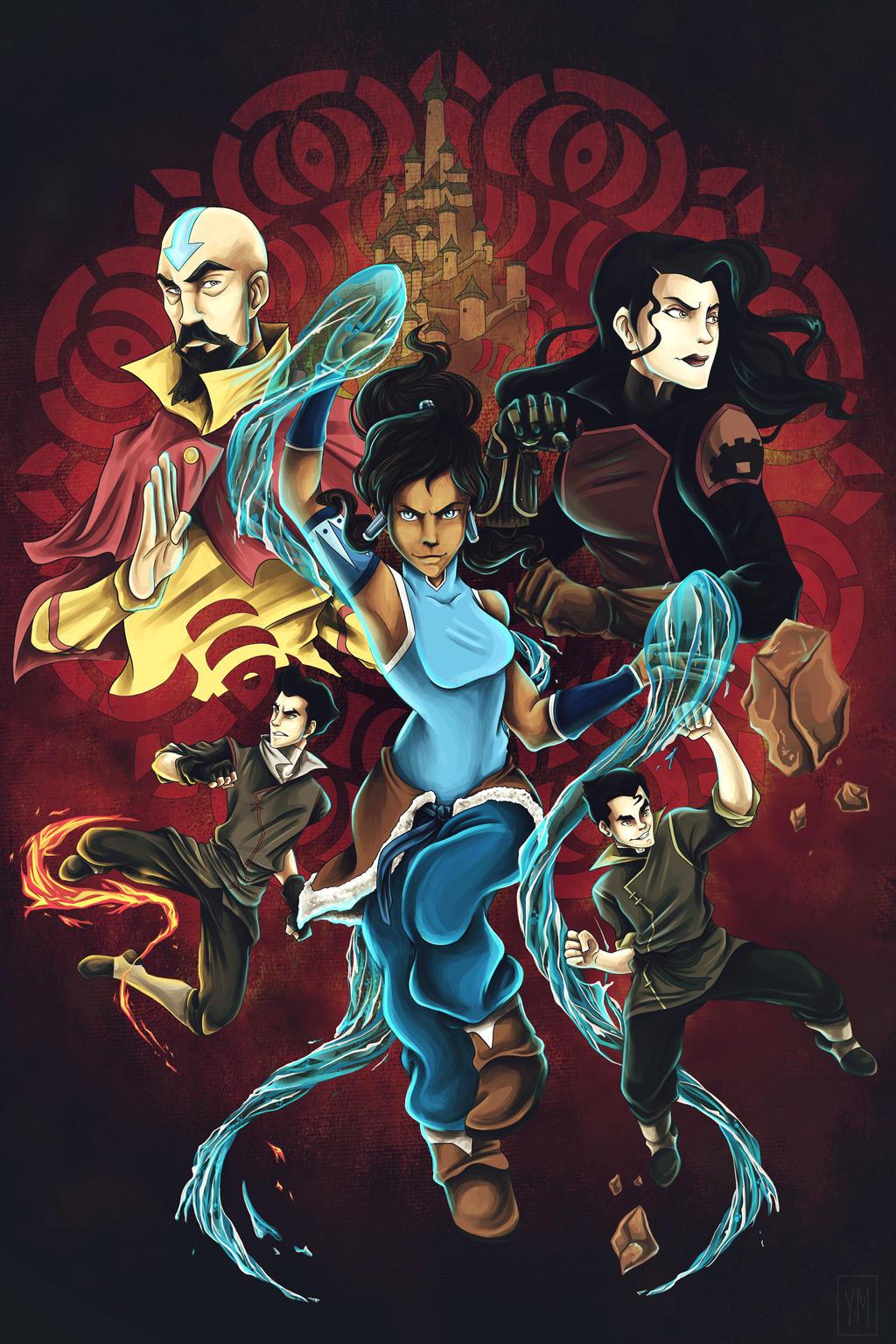 Legend of Korra : Book 3 : Update by yurixmeister