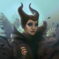 Maleficent by Narasura-of-Kashi