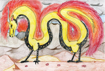 Fire spirit by Vitani-Yuy