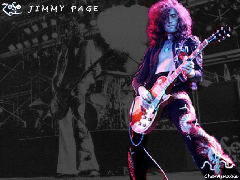 Jimmy Page By CharAznable