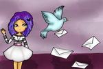 AdiOs paloma mensajera