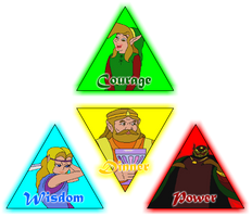 The CD-I Triforces