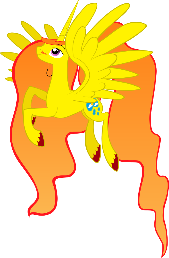 Prince Celestial (Vectorized) by Cubonator