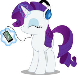 Rarity's MP3 player