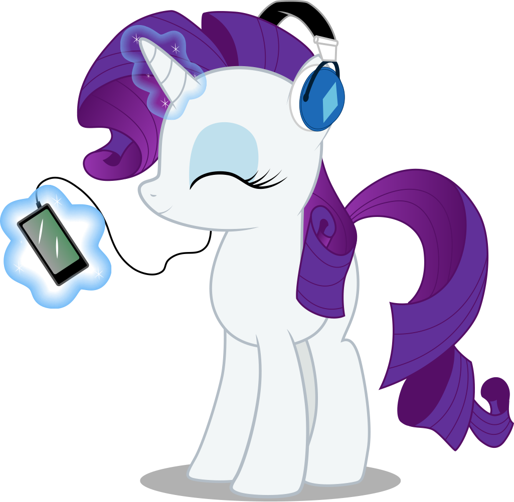 Rarity's MP3 player by Cubonator