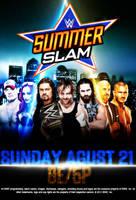 WWE SUMMERSLAM 2016 POSTER by CRISPY6664