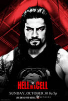 WWE HELLL IN A CELL  2016 Poster by CRISPY6664
